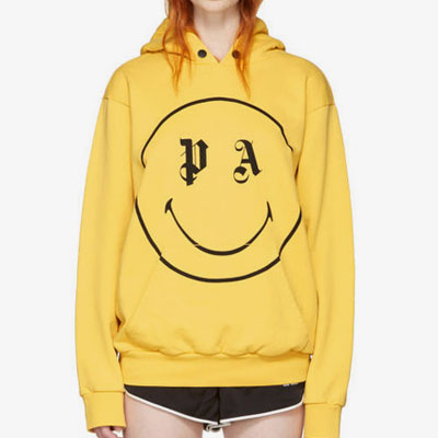 [UNISEX] SMILE MARK PULLOVER HOODIE(2color)