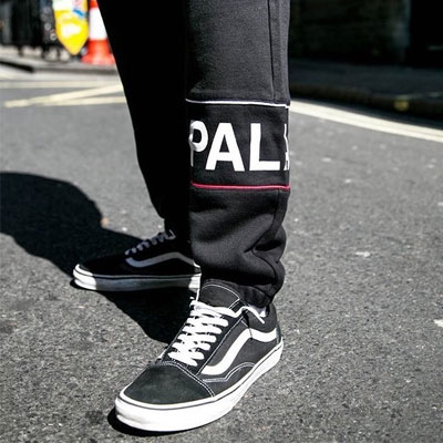 [UNISEX] ONE SIDE BIG LOGO POINT JOGGER PANTS(2color)