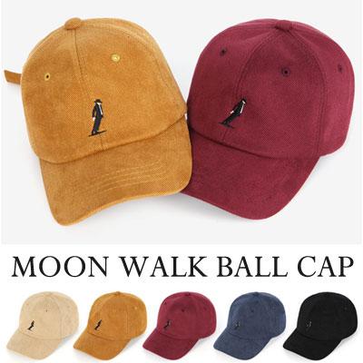 [UNISEX] MOON WALK BALL CAP(5color)
