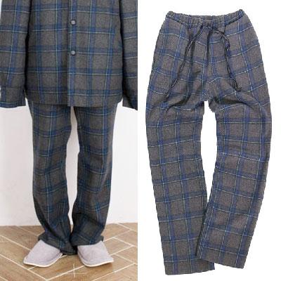【2XADRENALINE】Set-up Check Pants  - GRAY