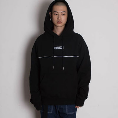 【2XADRENALINE】Scotch Light Logo Hoodie - BLACK