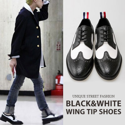 [24.5~28.0cm]G-DRAGON st./WING TIP SHOES/high quality materials