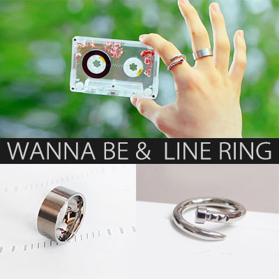 WANNAONE Kang Daniel st. WANNA BE LINE RING(2type)