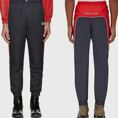 [UNISEX] RED POINT PATCH JOGGER PANTS