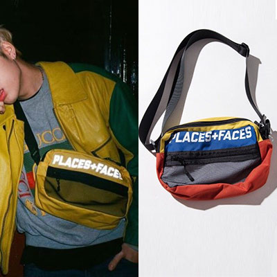 [UNISEX] ZICO STYLE SCOTCH LIGHT MULTI SHOULDER BAG