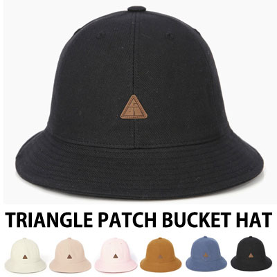 [UNISEX] TRIANGLE PATCH BUCKET HAT(6color)
