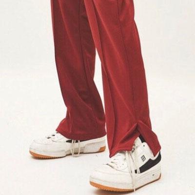 [UNISEX] SIDE SLIT TRACK PANTS(4color)