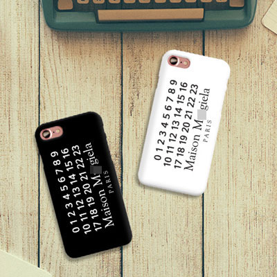 NUMBERING PRINT CHIC MOOD HARD CASE(iPhone,Galaxy/2color)