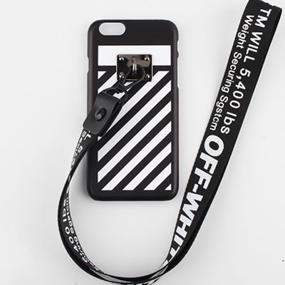 DIAGONAL PRINT LONG STRAP HARD CASE(5color)