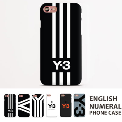 ENGLISH&NUMBER PRINT PHONE CASE(6type)