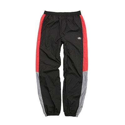 【2XADRENALINE】Retro Block Pants - BLACK
