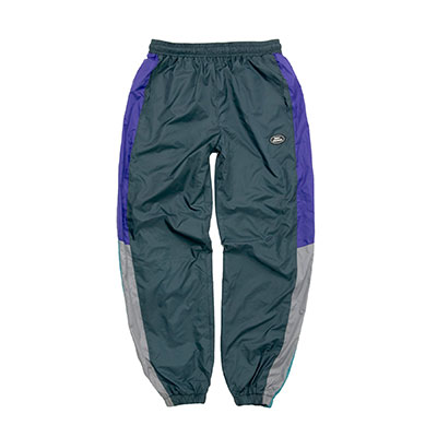 【2XADRENALINE】Retro Block Pants - GREEN