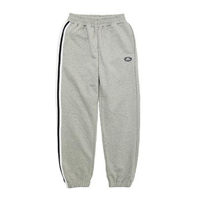 【2XADRENALINE】One side taping sweat pants - GREY