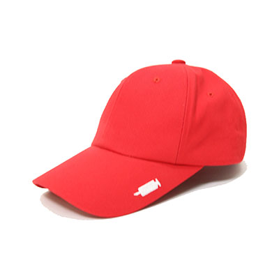 【2XADRENALINE】Signature buckle ball cap - RED