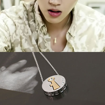 INFINITE WOOHYUN st. LOVE STAMPING CUBIC KEY NECKLACE (3type)