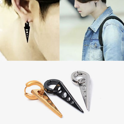 [1ea]Namtaeehyun /GOT7 JB st.SURGICAL STEEL TRIANGLE PIERCE(3color)
