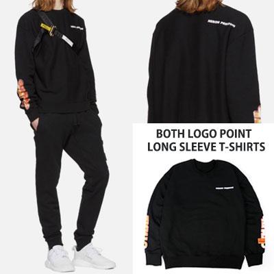 [UNISEX] BOTH LOGO POINT LONG SLEEVE T-SHIRTS