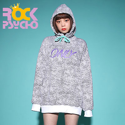【ROCK PSYCHO】 PATTERN ONLY HOODIE