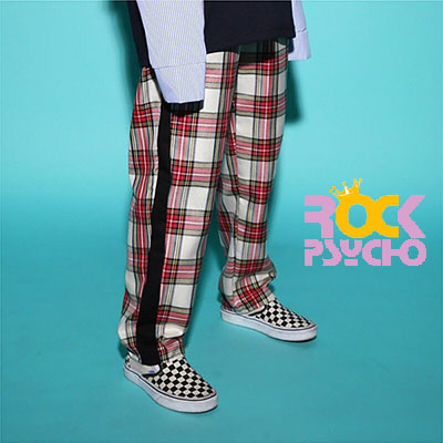 【ROCK PSYCHO】TARTAN CHECK PANTS(3COLOR)