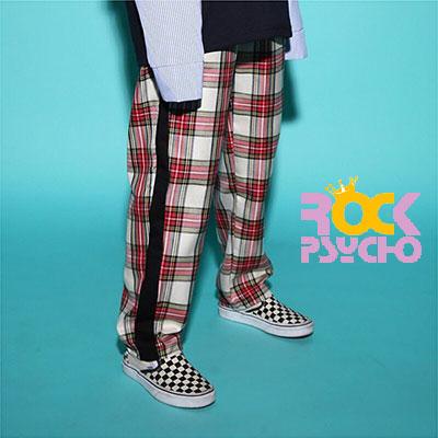 【ROCK PSYCHO】TARTAN CHECK PANTS(3COLOR)
