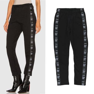 [UNISEX] CARE LABEL TAPE SWEAT PANTS(2color)
