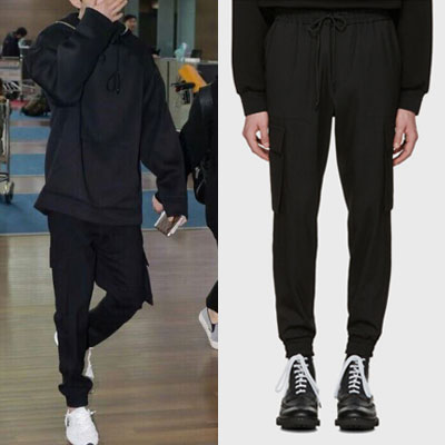 LEE DONGWOOK st. CARGO JOGGER PANTS(2size)