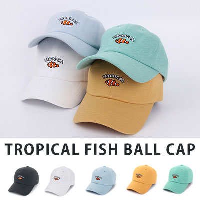 [UNISE] TROPICAL FISH BALL CAP(5color)