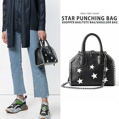 STAR PUNCHING BAG/SHOPPER BAG/TOTE BAG/SHOULDER BAG