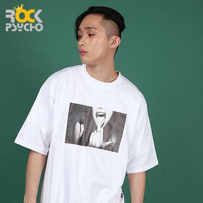 【ROCK PSYCHO】FUXX print short sleeve T-shirt ( 2 COLORS )
