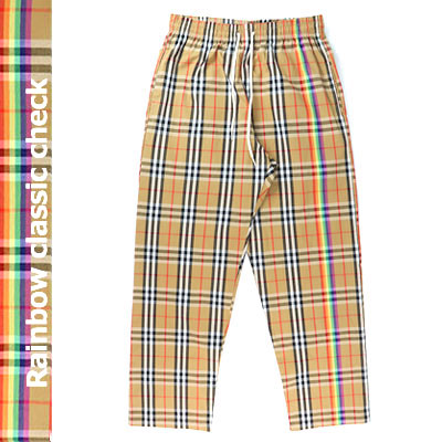 [UNISEX] RAINBOW WITH CLASSIC CHECK PANTS