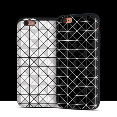 GEOMETIRIC PATTERN PHONE CASE(12color)