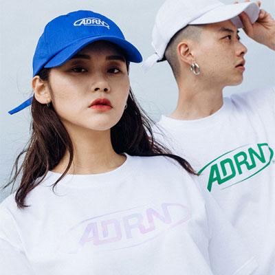 【2XADRENALINE】[WOMEN]ADRN ROUND LOGO T-Shirt/WHITE