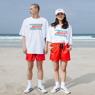 【2XADRENALINE】Basic Swim Pants -RED