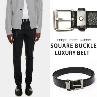 SQUARE BUCKLE LUXURY BELT(2size)