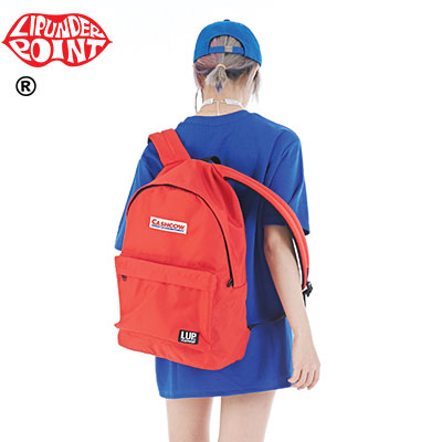[LIP・UNDER・POINT]   CASH COW BACKPACK -RED