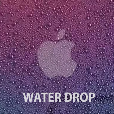 WATER DROP IMAGE PHONE CASE(2color)