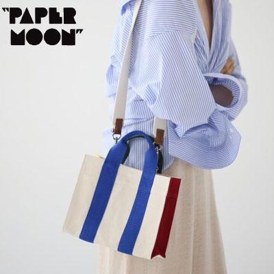 【PAPER MOON】COLOR BLOCK CANVAS TOTE BAG