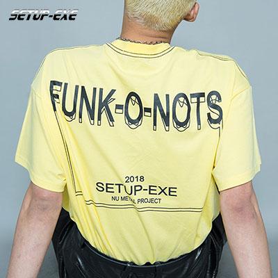 【SETUP-EXE】 FUNK T - SHIRT - LIGHT YELLOW