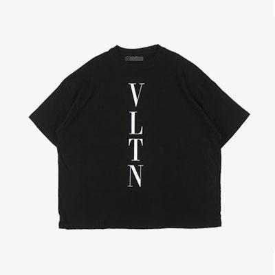 [UNISEX] VERTICAL LOGO SHORT SLEEVE TSHIRTS(2color)