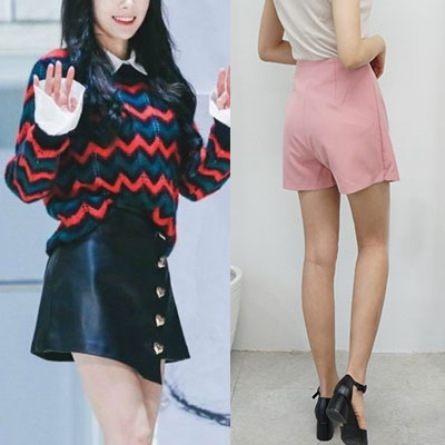 blackpink/SNSD st. I DOLL WRAP SKIRT(3color 2size)