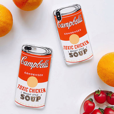TOMATO SOUP CAN PHONE CASE