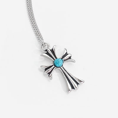 wannaone Ong Seongwoo st. TURQUOISE POINT ANTIQUE CROSS NECKLACE(2type)