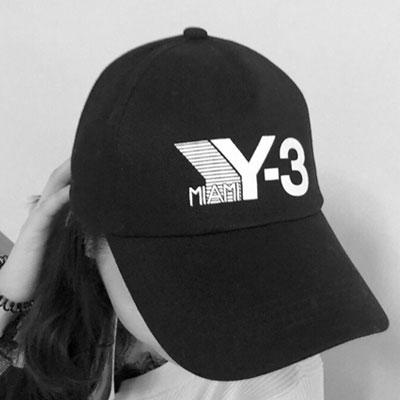 [UNISEX] ENGLISH&NUMBER PRINT BALL CAP