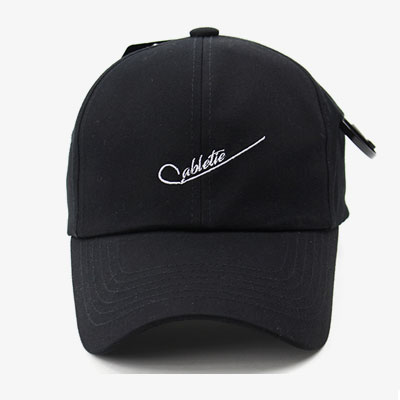 [UNISEX] CABLE TIE POINT BALL CAP(2color)