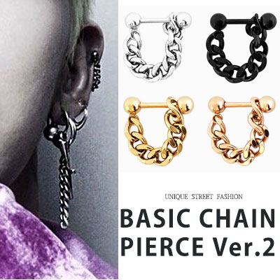 G-DRAGON st. BASIC CHAIN PIERCE ver.2