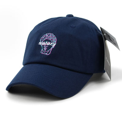 [UNISEX] SALARY EMBROIDERY BALL CAP(4color)