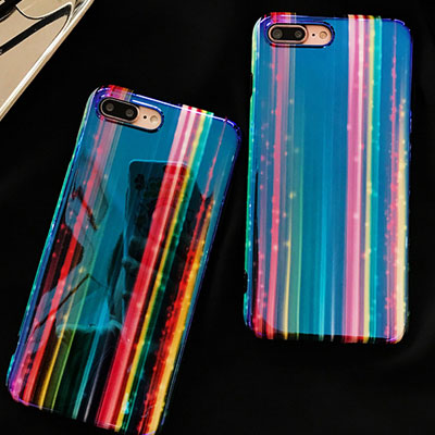 BLING RAINBOW JELLY HARD CASE