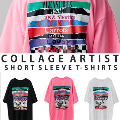 [UNISEX] COLLAGE ARTIST SHORT SLEEVE TSHIRTS(3color)