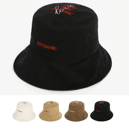 [UNISEX] MORE THEN ANYTHING LOGO POINT BUCKET HAT(4color)