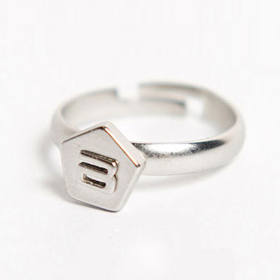 Official cheer goods ★ Bigbang 2012 STILL ALIVE Name / Simple ring